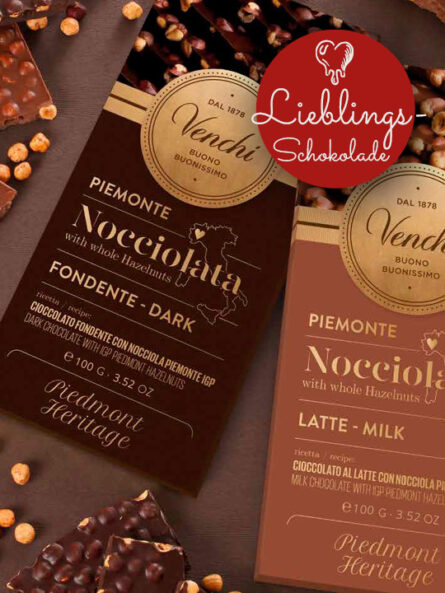 Lieblingsschokolade Venchi Nocciolata