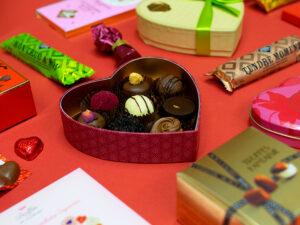 Valentins Schokolade