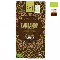 Georgia Ramon - Dunkle Bio-Schokolade mit Kardamon