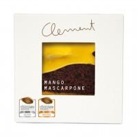 Clement Chococult - Dunkle Schokolade mit Mango-Mascarpone-Füllung