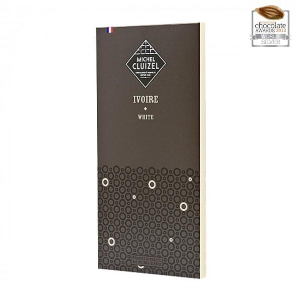 Michel Cluizel - Weiße Schokolade mit Vanille