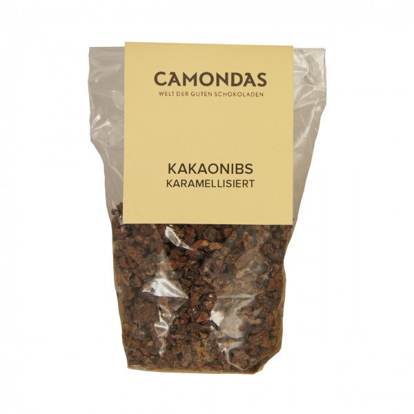 CAMONDAS - Karamellisierte Kakaonibs