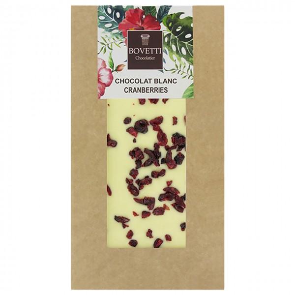 Bovetti - Weiße Schokolade mit Cranberries