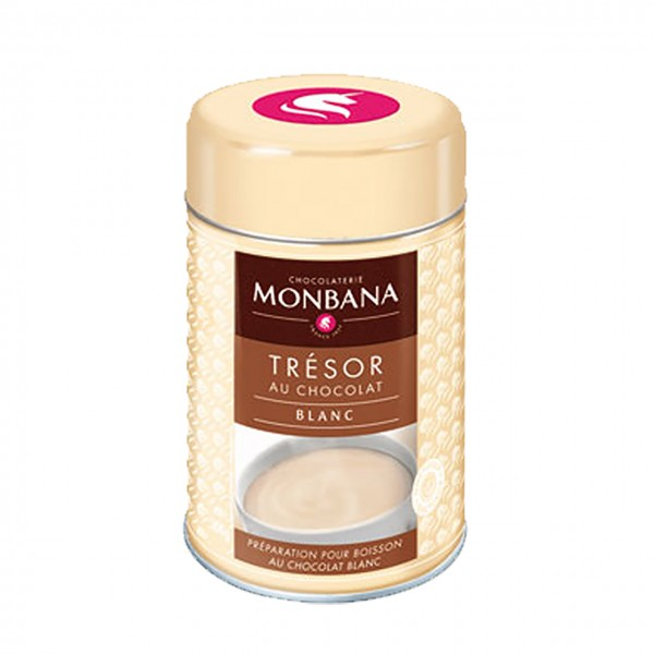 Monbana - Trésor weiße Trinkschokolade
