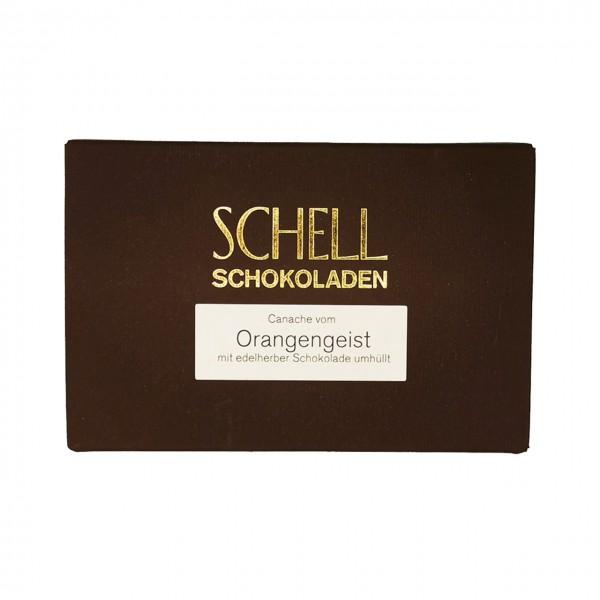 Schell - Gefüllte Schokolade mit Orangenbrand
