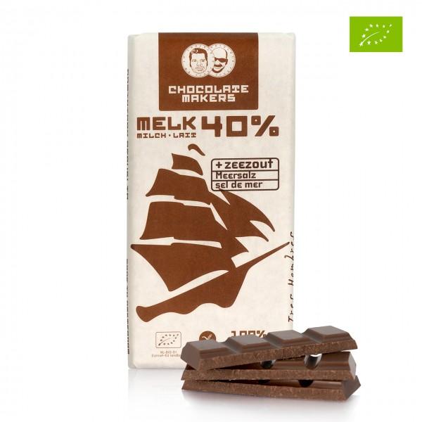 Chocolate Makers - Milchschokolade mit Meersalz