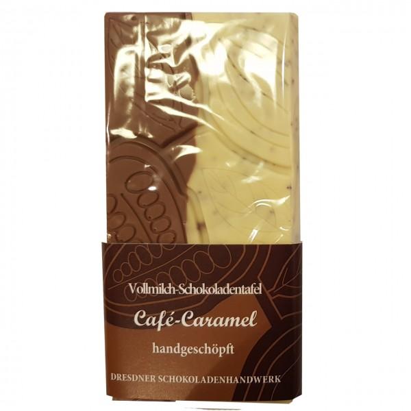 Dresdner Handwerk - Tafel Vollmilch Kaffee-Karamell