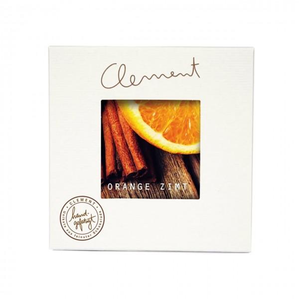 Clement Chococult - Dunkle Schokolade mit Orange-Zimt-Füllung