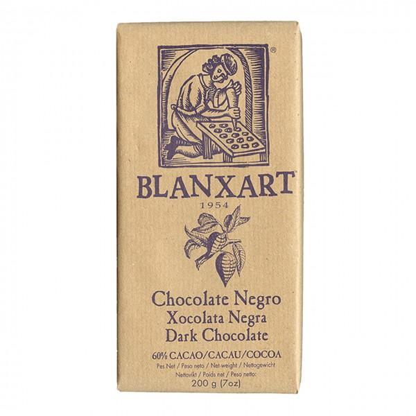 Blanxart pure Zartbitterschokolade 60% Kakao