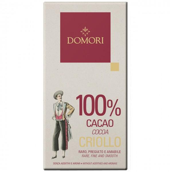 Domori - 100 %ige Criollo-Schokolade
