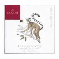 Domori - Dunkle Trinitario-Tafel aus Madagaskar