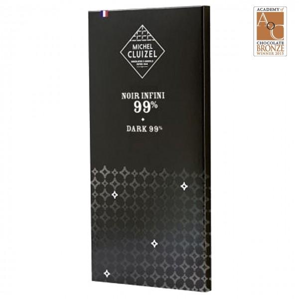 Michel Cluizel - Dunkle Schokolade mit 99% Kakao