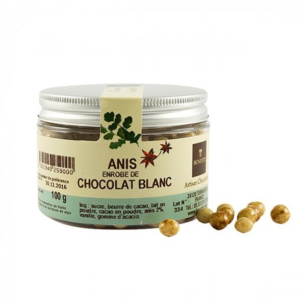 Bovetti Kräuterperlchen Anis weiße Schokolade