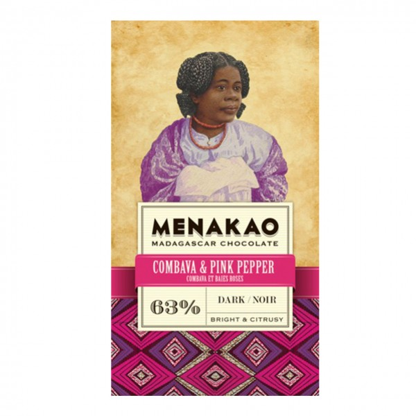 Menakao - Combava & Pink Pepper, Dark 63%