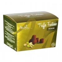 Mathez - Schokoladen-Trüffel mit Pistazienstückchen