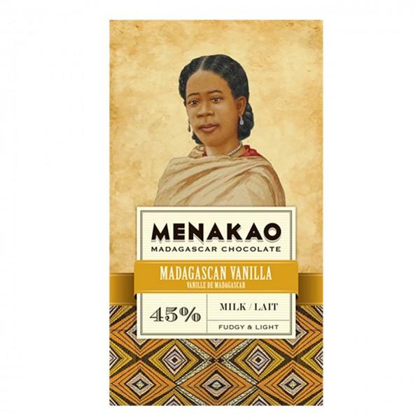 Menakao - Madagascan Vanilla, Milk 45%
