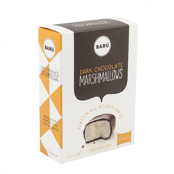 Barú Marshmallows 4er-Pack in Zartbitterschokolade