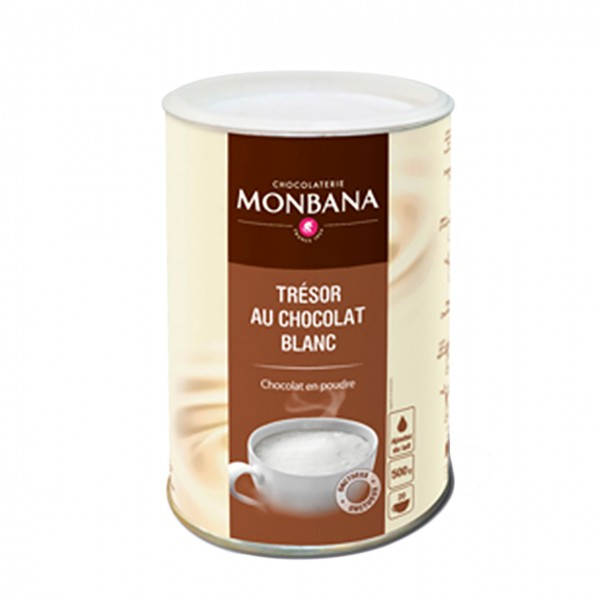 Monbana - Dickflüssige weiße Trinkschokolade