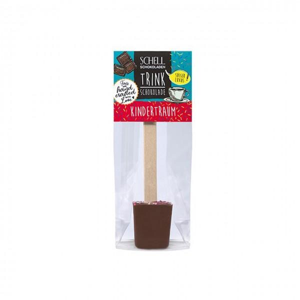 Schell - Trinkschokolade am Stiel Kindertraum