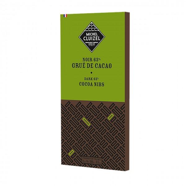 Michel Cluizel - Noir au Grué de Cacao 63%