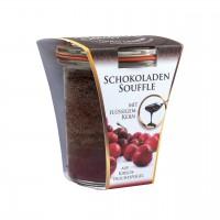 Soufflini Schokoladen-Soufflé 'Kirsche' im Weckglas