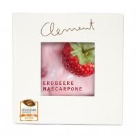 Clement Chococult - Vollmilch-Schokolade mit Erdbeer-Mascarpone-Füllung