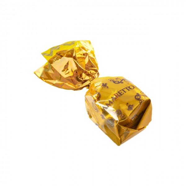 Cuneesi - Dunkle Praline mit Amaretto-Ganache gefüllt