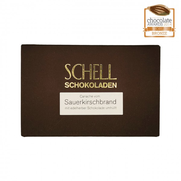 Schell - Gefüllte Schokolade mit Sauerkrischbrand