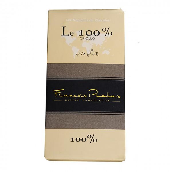 François Pralus - 100% Criollo-Kakao Schokolade