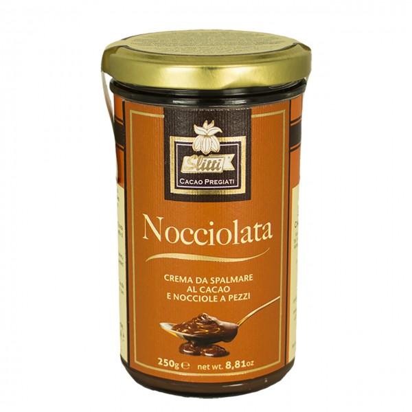 Slitti - Nocciolata Brotaufstrich aus Kakao und Haselnussstücken