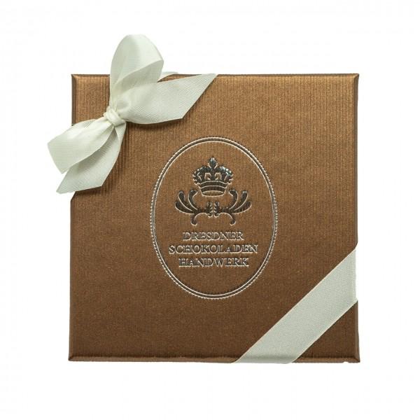 Dresdner Schokoladenhandwerk – Handgemachte Pralinen – 9er Geschenkpackung