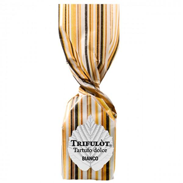 Weißer Schokoladentrüffel mit Piemont Haselnüssen - TartufLanghe