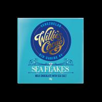 Willie`s Cacao - Vollmilchschokolade mit Meersalzflocken