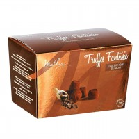 Mathez - Schokoladen-Trüffel mit Kakaobohnensplitter