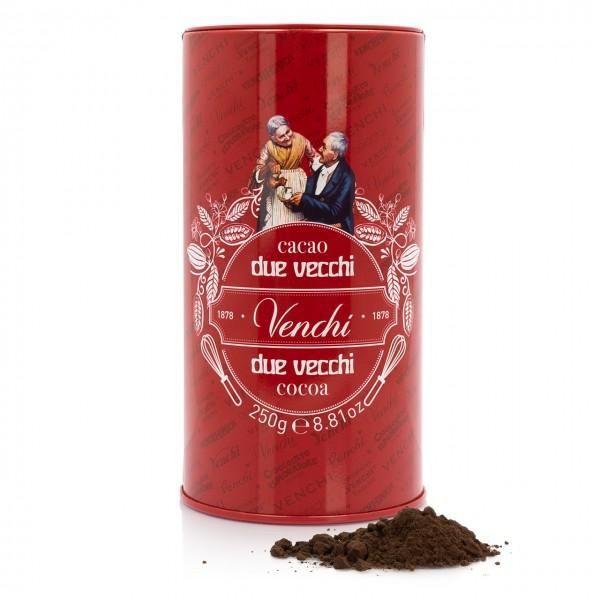 Venchi - 100%iges Kakaopulver in einer historischen Dose