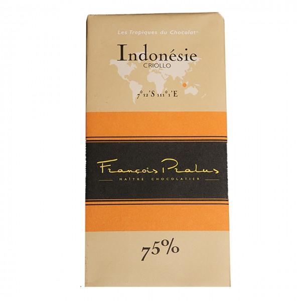 François Pralus - 75% Criollo-Kakao Schokolade Indonesien