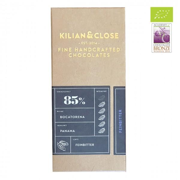 Kilian & Close - Dunkle Bio-Schokolade mit Kokosblütenzucker