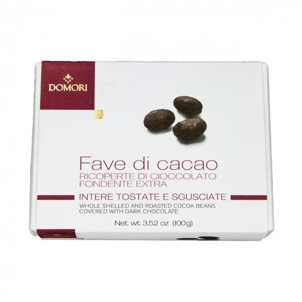 Domori - Fave di cacao ricoperto di cioccolato