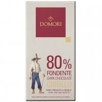 Domori - Dunkle Criollo-Tafel mit 80% Kakao