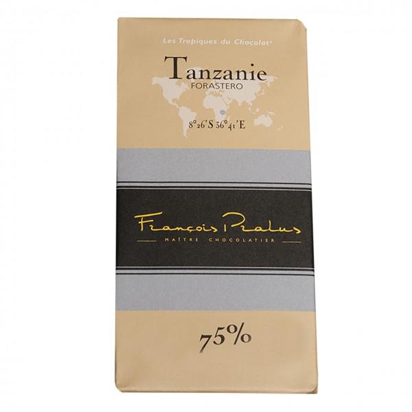 François Pralus - 75% Forastero-Kakao Schokolade Tanzanie