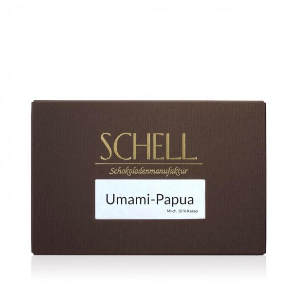 Schell - Umami Papua Vollmilchschokolade 38%
