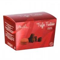 Mathez - Schokoladen-Trüffel mit Himbeere-Macaron