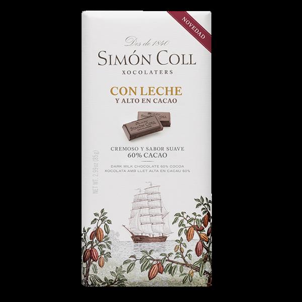 Simon Coll - Vollmilchschokolade 60%