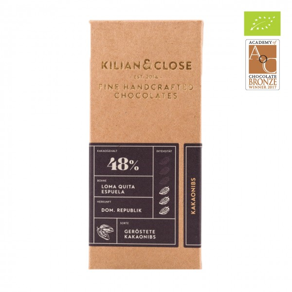 Kilian & Close - Kakaonibs, 48%