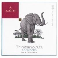 Domori - Dunkle Trinitario-Tafel aus Tanzania