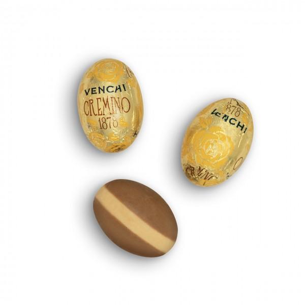 Venchi - Osterei Cremino aus weißer Schokolade und Mandelpaste