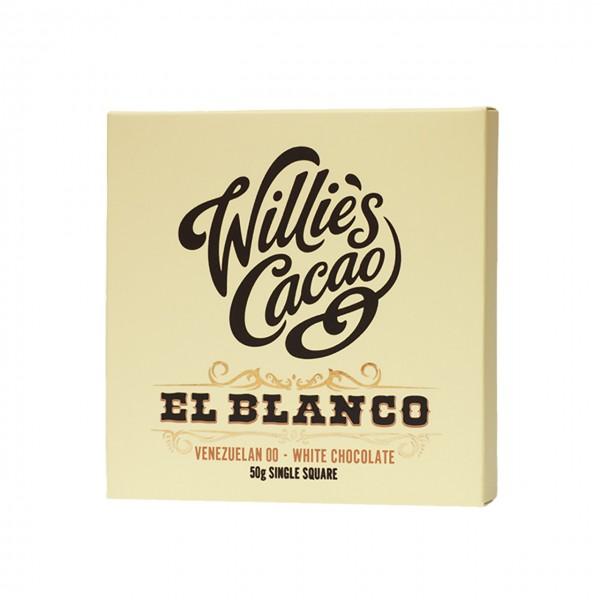 Willie`s Cacao - El Blanco - Weiße Ursprungsschokolade