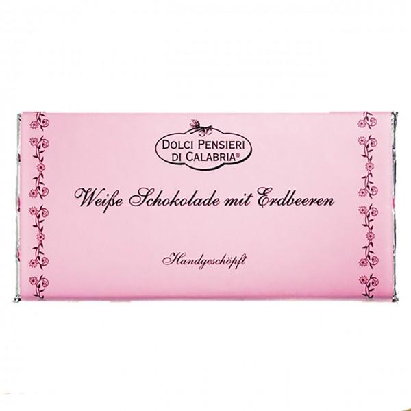 Dolci Pensieri Weiße Schokolade Erdbeere