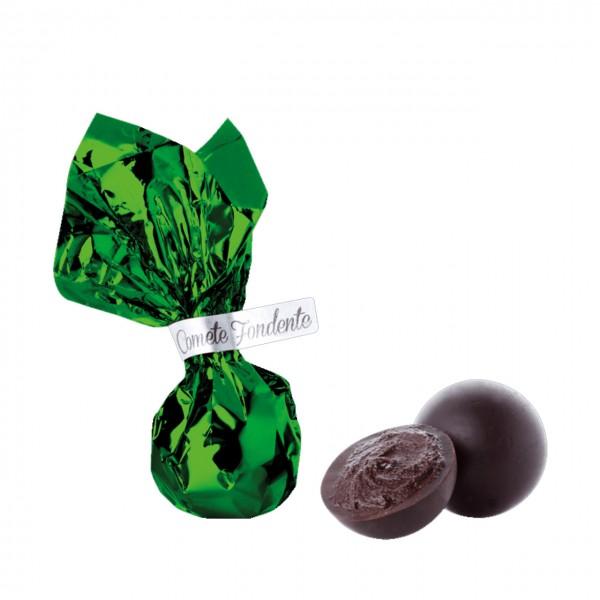 Venchi - Grüner Komet gefüllt mit Kakao-Creme