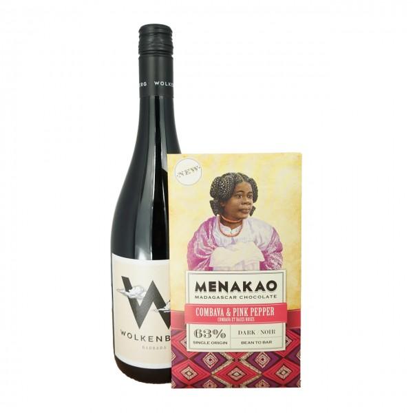CAMONDAS - Schokolade & Wein: Cuvée Barbara und Combava & Pink Pepper